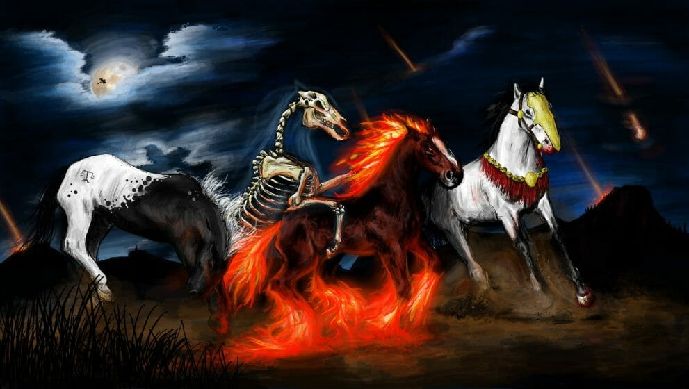 A race between the four horsemen